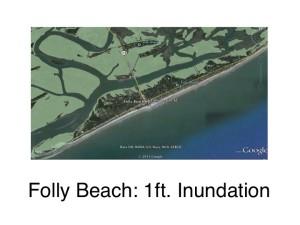 Folly Beach: 1 ft