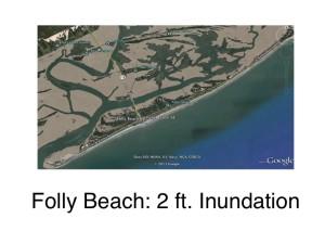Folly Beach: 2ft