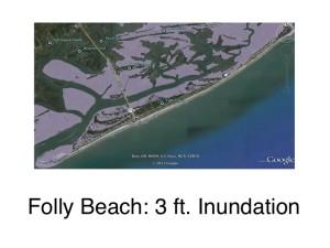 Folly Beach: 3ft