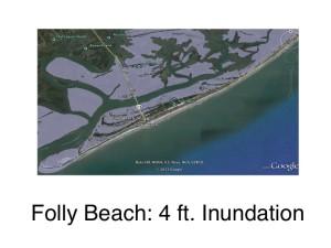 Folly Beach: 4ft