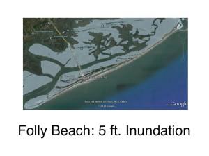 Folly Beach: 5ft
