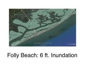 Folly Beach: 6ft